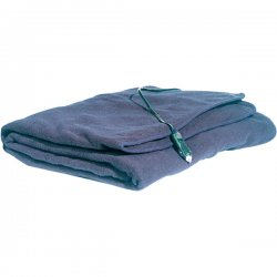 Maxsa - 20013 - MAXSA INNOVATIONS 20013 Comfy Cruise(R) Heated Travel Blanket (Navy Blue)