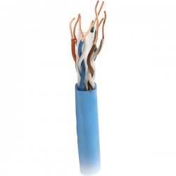 Steren Electronics - 300-796BL - Steren Cat.6 UTP Cable - Bare Wire - 1000ft - Blue