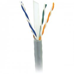 Steren Electronics - 300-796GY - Steren Cat.6 UTP Cable - Bare Wire - 1000ft - Gray