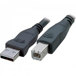 Accell - A001B-016B - Accell Premium USB Cable - Type A Male USB - Type B Male USB - 16ft