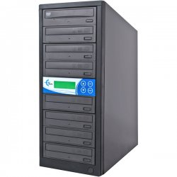 EZ Dupe - EZD7TDVDLGB - EZdupe 1:7 CD/DVD Duplicator - DVD-ROM, DVD-Writer - 16x DVD, 32x CD-R