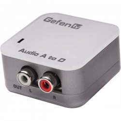 Gefen - GTV-AAUD-2-DIGAUD - Gefentv Analog To Digital Audio Adapter Package Includes: Unit; (1) Ext-ps52au (