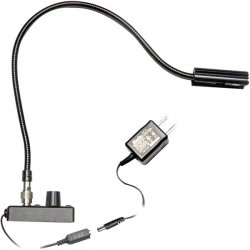 "Littlite - L-8/12-HI - High Intensity 12"" Detachable TNC Gooseneck Lampset (U.S. Power Supply)"