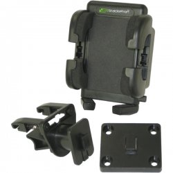 Bracketron - PHV-202-BL - Bracketron Grip-iT GPS & Mobile Device Holder - Black