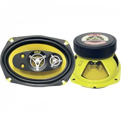 "Pyle / Pyle-Pro - PLG69.5 - Pyle Gear X PLG69.5 Speaker - 225 W RMS - 450 W PMPO - 5-way - 2 Pack - 4 Ohm - 6"" x 9"" - Automobile"