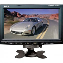 "Pyle / Pyle-Pro - PLVHR75 - Pyle PLVHR75 7"" Active Matrix TFT LCD Car Display - Gray - 1440 x 234"