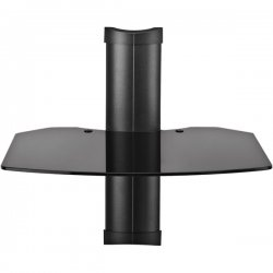 OmniMount - TRIA 1 - OmniMount TRIA Series Tria 1 A/V Shelf - Glass