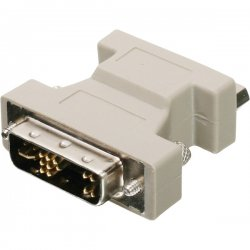 IOGear - GDVIMVGAF - IOGEAR DVI-A to VGA Adapter - 1 x HD-15 Female - 1 x DVI-A Male Video