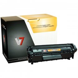 V7 - V712XP - V7 Black Ultra High Yield Toner Cartridge for HP LJ - Laser - High Yield - 4000 Page