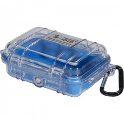 "Pelican - 1010-026-100 - Pelican 1010 Multi Purpose Micro Case - 4.06"" x 2.12"" x 5.88"" - Blue"