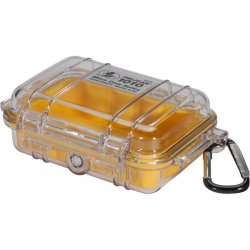 "Pelican - 1010-027-100 - Pelican 1010 Multi Purpose Micro Case - 4.06"" x 2.12"" x 5.88"" - Yellow"