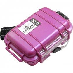 "Pelican - 1010-045-164 - Pelican Micro Case i1010 for iPod - 4.06"" x 2.12"" x 5.88"" - Steel - Pink"