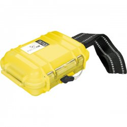 "Pelican - 1010-045-240 - Pelican Micro Case i1010 for iPod - 4.06"" x 2.12"" x 5.88"" - Steel - Yellow"