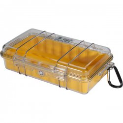 Pelican - 1060-027-100 - Pelican 1060 Micro Multi Purpose Case - 5.56 x 2.62 x 9.37 - Yellow