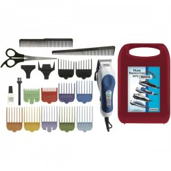 Wahl Clipper - 79300 400 - Wahl 79300 400 Color Pro Hair Cutting Clipper Kit 20 Pc Hard
