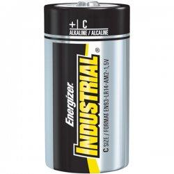 Energizer - EN93 - Energizer Industrial Alkaline C Batteries - 8350 mAh - C - Alkaline - 1.5 V DC - 12 / Box