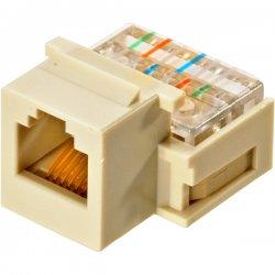 Steren Electronics - 310-106IV-10 - Steren Telephone Keystone Modular Jack - RJ-11