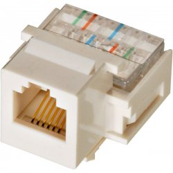 Steren Electronics - 310-106WH-10 - Steren Telephone Keystone Modular Jack - RJ-11