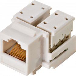 Steren Electronics - 310-120WH-10 - Steren Cat.5e Keystone Jack - RJ-45