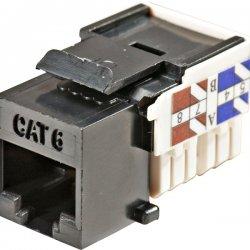 Steren Electronics - 310-140BK-10 - Steren Fast Media Cat.6 Keystone Jack - RJ-45