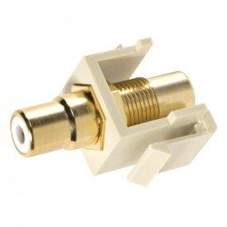 Steren Electronics - 310-463IV-10 - Steren Keystone Modular Insert - RCA