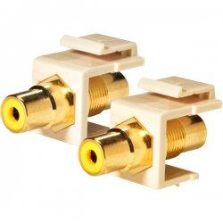 Steren Electronics - 310-464IV-10 - Steren Keystone Modular Insert - RCA