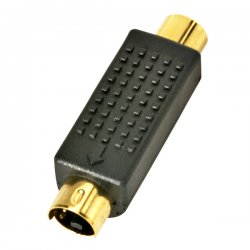 Steren Electronics - 251-152-10 - Steren S-Video To RCA Adapter - Plastic