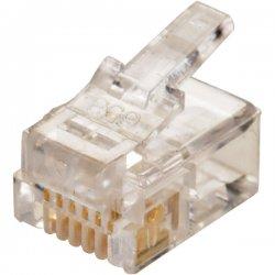 Steren Electronics - 300-066-25 - Steren Flat-Cable Modular Plug - RJ-12