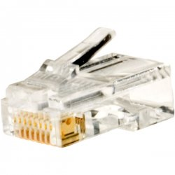 Steren Electronics - 300-168-25 - Steren Round-Cable Modular Plug - RJ-45
