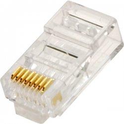 Steren Electronics - 301-191-25 - Steren Fast Media Cat.6 Modular Plug - RJ-45