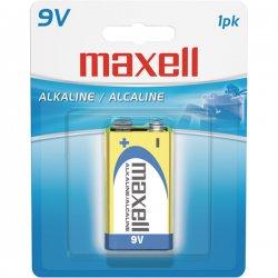 Maxell - 721110 - Maxell 9V DC Gold Alkaline Battery Pack - Alkaline - 9V DC