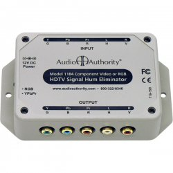 Audio Authority - 1,184.00 - 1184 Active Signal Hum Eliminator / DC Blocker