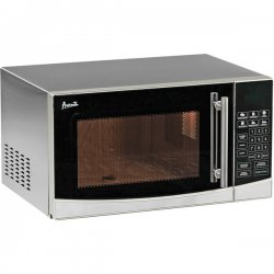 Avanti - MO1108SST - Avanti MO1108SST Microwave Oven - Single - 1.10 ft³ Main Oven - 1 kW Microwave Power - Countertop - Stainless Steel