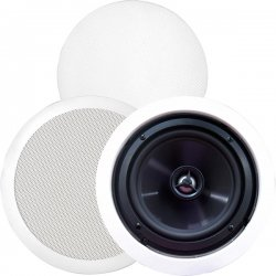 BIC America / Acoustech - MSR-PRO6 - BIC America MSR-PRO6 125 W RMS Speaker - 2-way - 2 Pack - White - 8 Ohm
