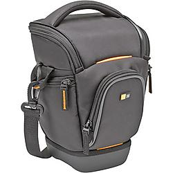 Case Logic - SLRC-201Black - Case Logic SLR Zoom Holster - 10 x 6.5 x 6 - Nylon - Black