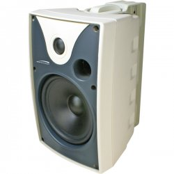 Speco - SP6AWXW - Speco SP6AWXW 50 W RMS - 100 W PMPO Outdoor Speaker - 2-way - 2 Pack - White - 8 Ohm