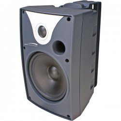Speco - SP6AWX - Speco SP6AWX 50 W RMS - 100 W PMPO Outdoor Speaker - 2-way - 2 Pack - Black - 8 Ohm