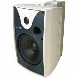 Speco - SP5AWXTW - Speco SP5AWXTW 40 W RMS - 80 W PMPO Outdoor Speaker - 2-way - 2 Pack - White - 8 Ohm