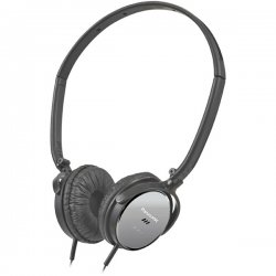 Panasonic - RP-HC101-K - Panasonic RP-HC101 Noise Canceling Headphone - Wired Connectivity - Stereo - Over-the-head