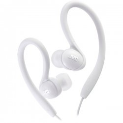 JVC - HAEBX85W - JVC HA-EBX85 Binaural Earphone - Wired Connectivity - Stereo - Over-the-ear - White