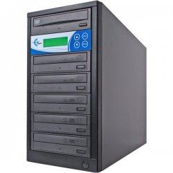 EZ Dupe - EDL5 - EZdupe 1:5 CD/DVD Duplicator - Standalone - DVD-ROM, DVD-Writer - 20x DVD-R, 20x DVD+R, 4x DVD+R, 4x DVD-R, 40x CD-R - 8x DVD+R/RW, 6x DVD-R/RW, 40x CD-RW - USB