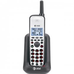 AT&T - SB67108 - AT&T 4-line Accessory Handset - Black, Silver