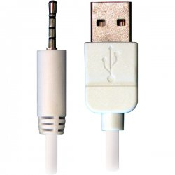 Accell - L098B-005J - Accell USB Sync Cable - Male USB - Mini-phone Male Audio - 5ft