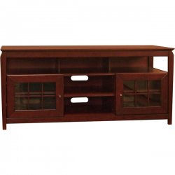 TechCraft - BAY6028 - Techcraft BAY6028 Hi Boy TV Stands - Wood - Walnut