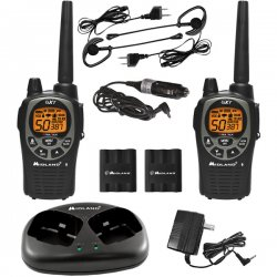 Midland Radio - GXT1000VP4 - Midland GXT1000VP4 Up to 36 Mile Two-Way Radio - 158400 ft