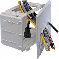 DataComm - 45-0010-WH - DataComm 45-0010-WH Recessed Media Box - Enclosure - White