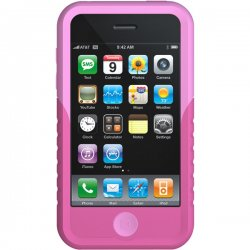 XtremeMac - 01567 - XtremeMac Tuffwrap Case for iPhone, 3G 2-Tone Pink/Pink