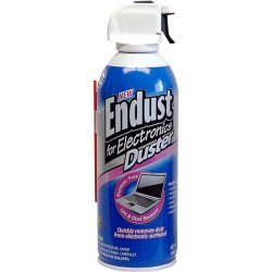 Endust - 11384 - Compressed Air Duster, 10oz Can