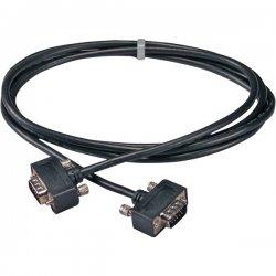 QVS - CC388MA-03 - QVS Premium CC388MA-03 Coaxial UltraThin Audio/Video Cable - HD-15 Male VGA, Mini-phone Male Audio - HD-15 Male VGA, Mini-phone Male Audio - 3ft