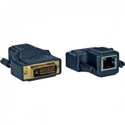 QVS - MDVI-C5 - QVS MDVI-C5 Video Console/Extender - 1 Input Device - 1 Output Device - 130 ft Range - 2 x Network (RJ-45) - 1 x DVI In - 1 x DVI Out - SXGA - 1280 x 1024 - Twisted Pair - Category 6